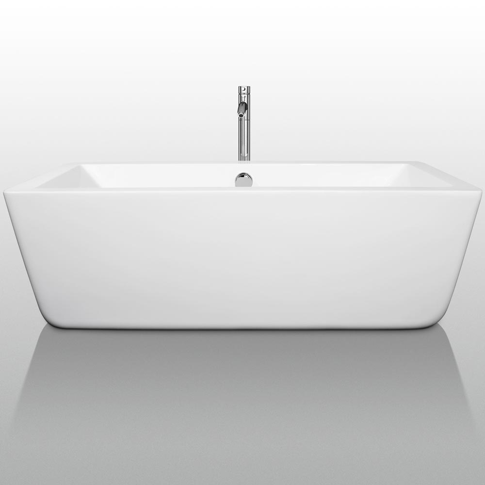 "67"" Laura Soaking Bath Tub"