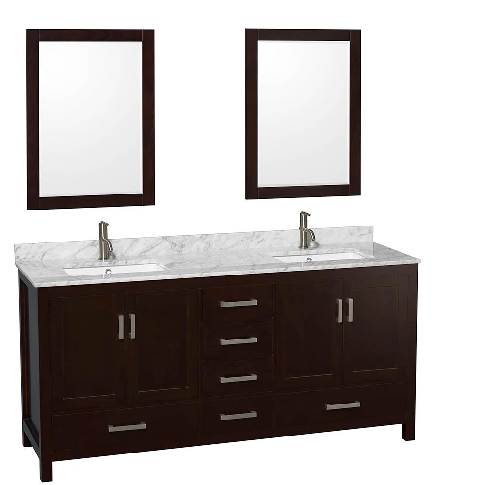 Shown with Optional Small Mirrors