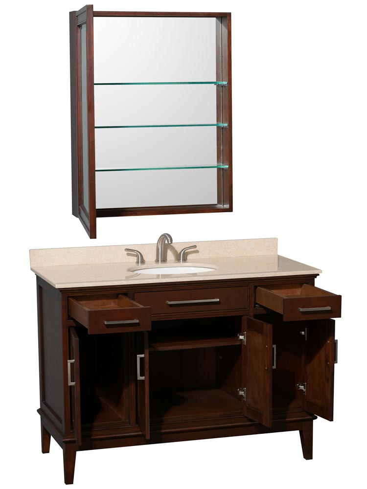 Four Cabinet Doors And Two Drawers