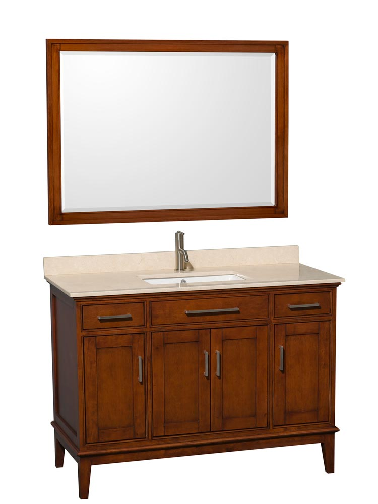 Shown with Optional Large Mirror