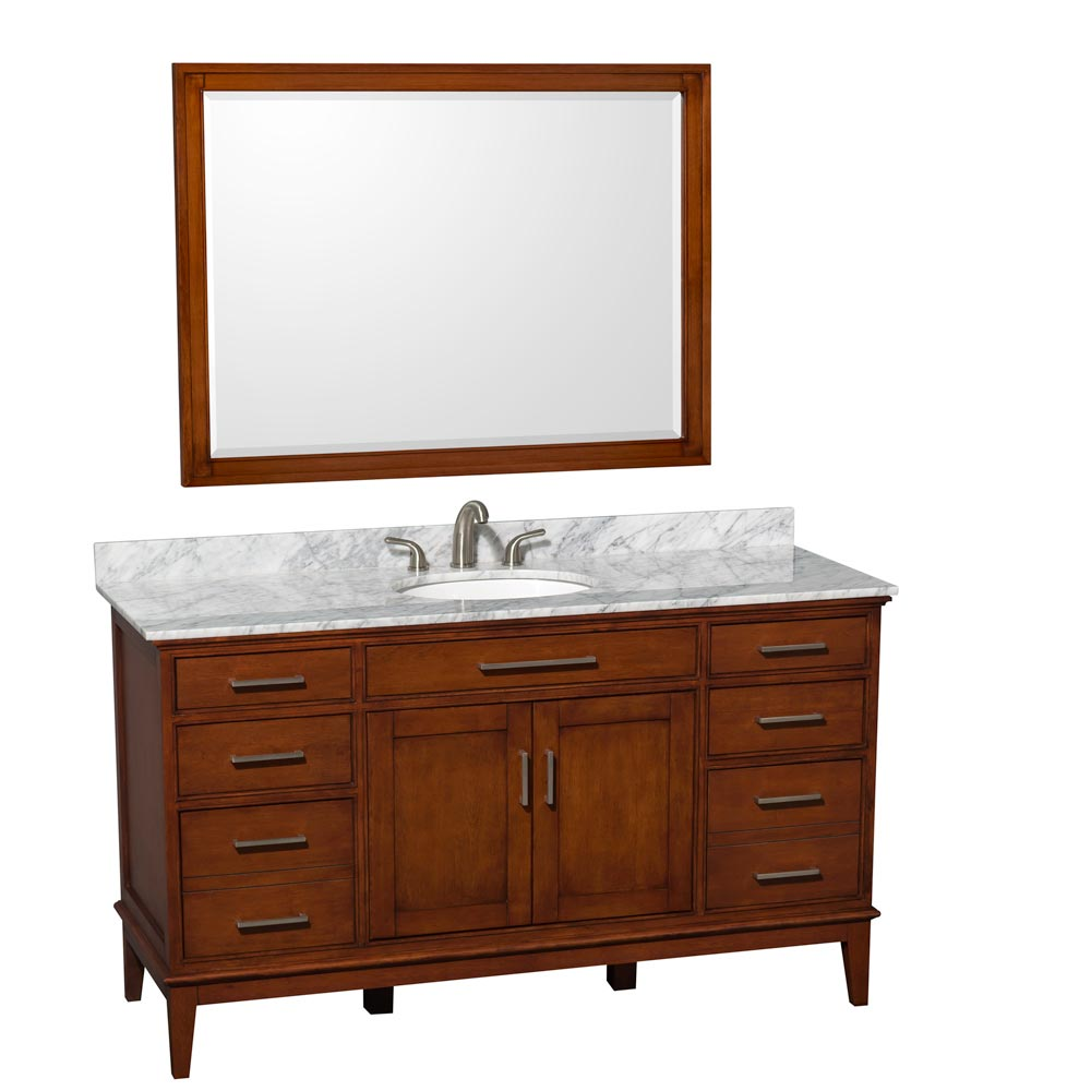 "Shown with Optional 44"" Mirror"