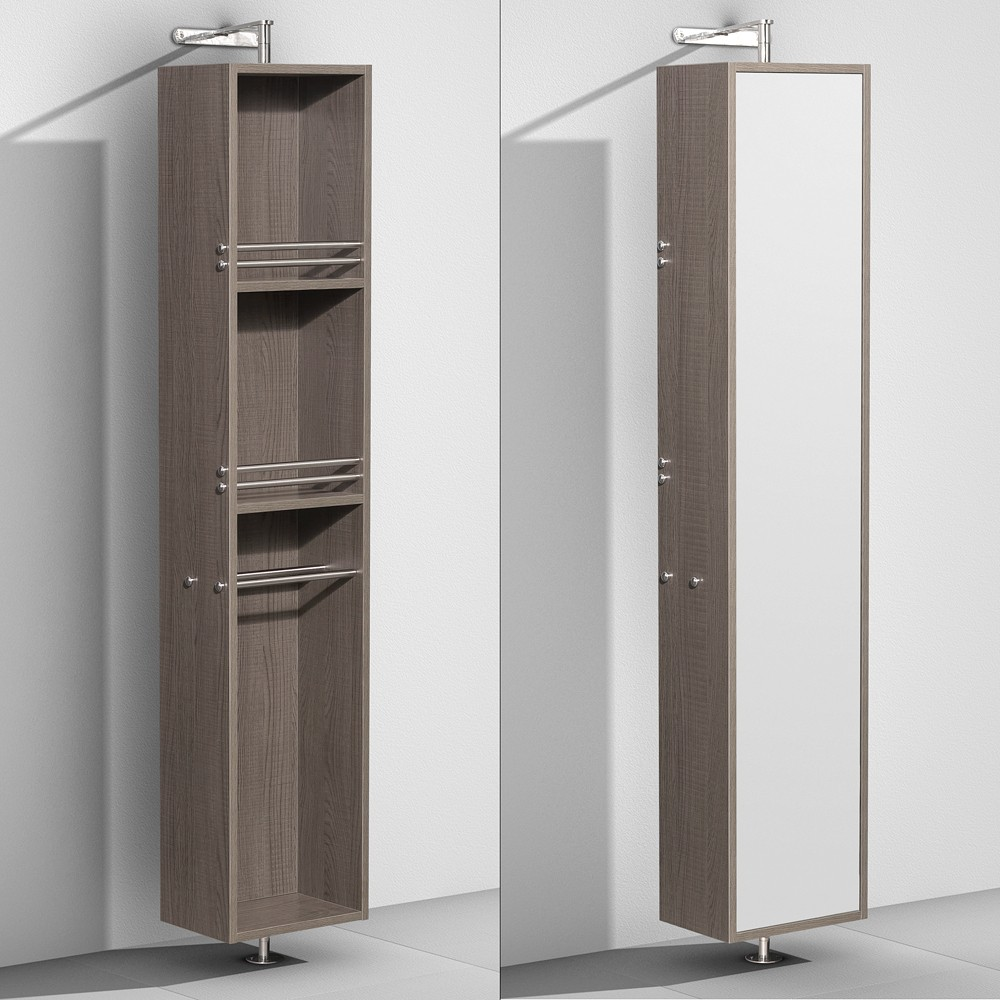 Amare Rotating Floor Cabinet