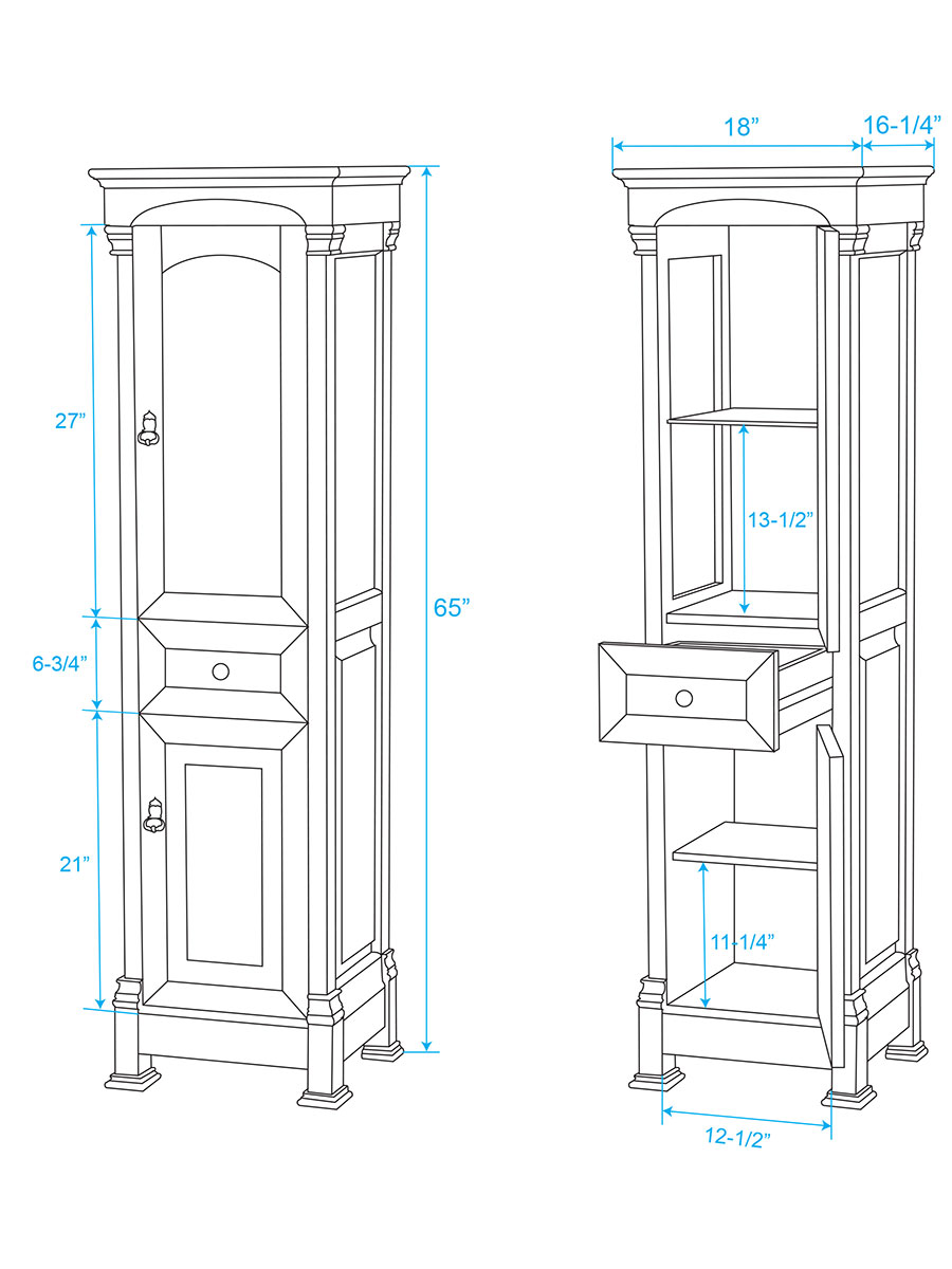 Andover Linen Cabinet