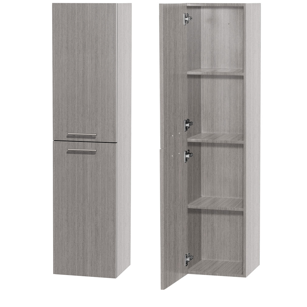 Bailey Wall Cabinet in Grey Oak