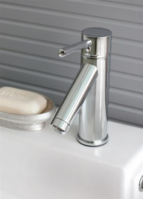 Chrome Faucet Included