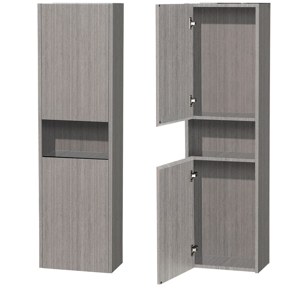 Diana Wall Cabinet in Grey Oak