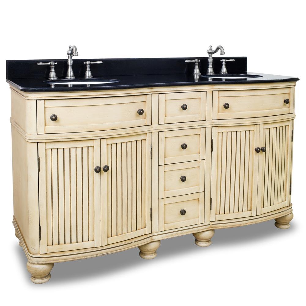 """60.5"""" Venice Double Sink Vanity"""