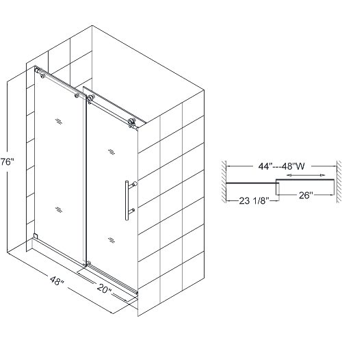 """Dimensions For 48"""" Door"""