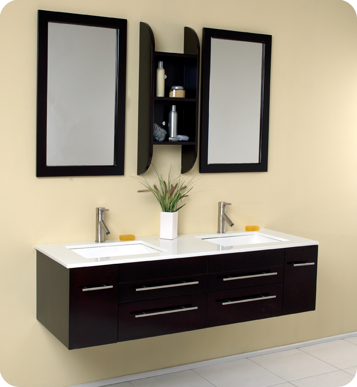 "59"" Bellezza Double Sink Vanity"