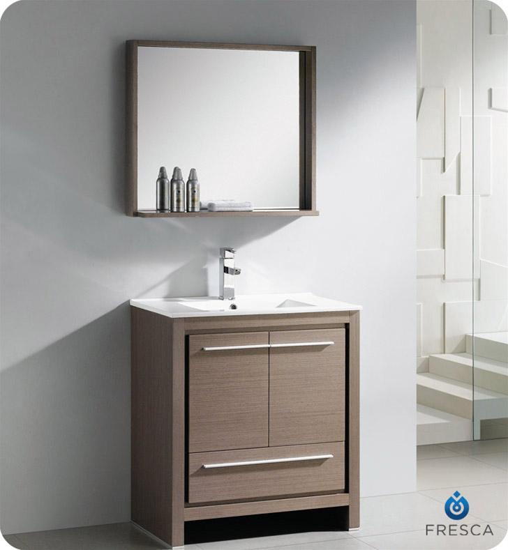 29 5 Allier Single Bath Vanity Gray Oak