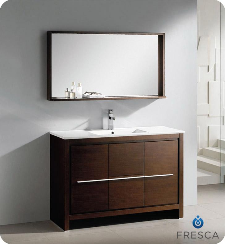 47 25 Quot Allier Single Bath Vanity Wenge Bathgems Com