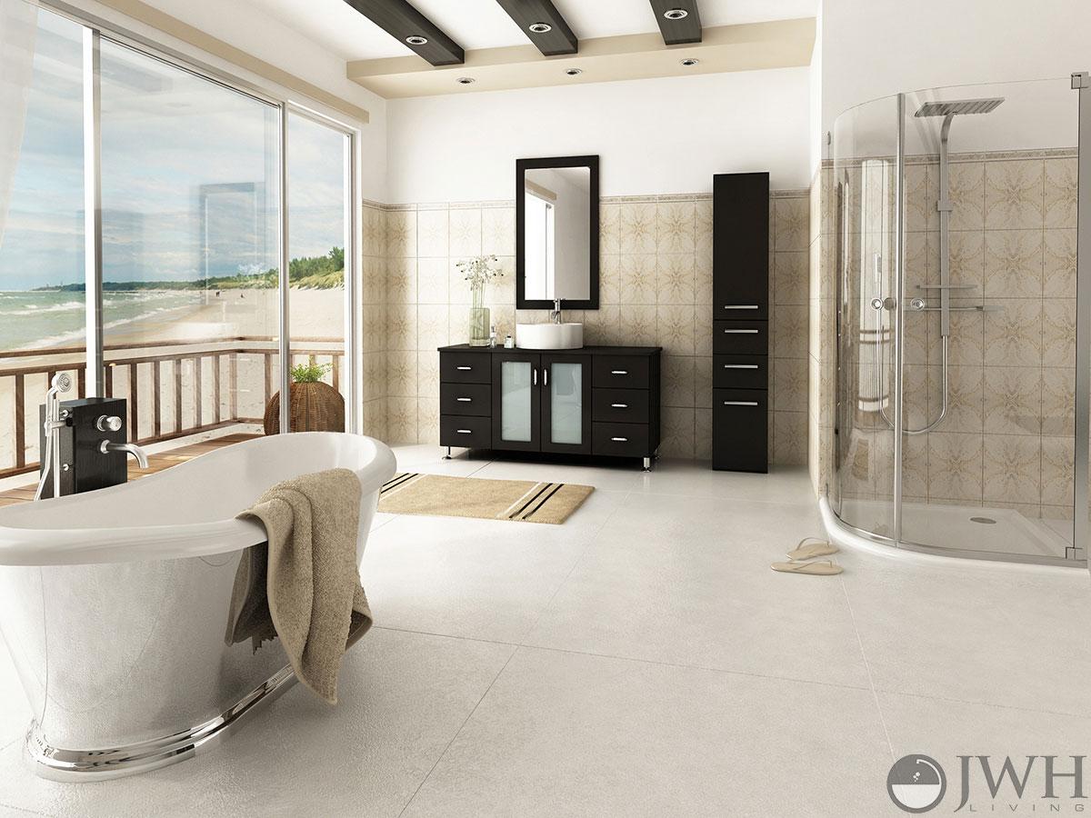 "47.25"" Grand Lune Single Bath Vanity - Espresso"