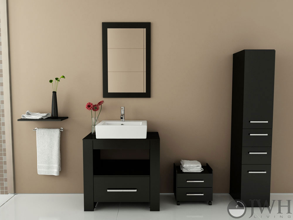Bathroom Vanity Under $500 31.5 libra modern single bath vanity - bathgems