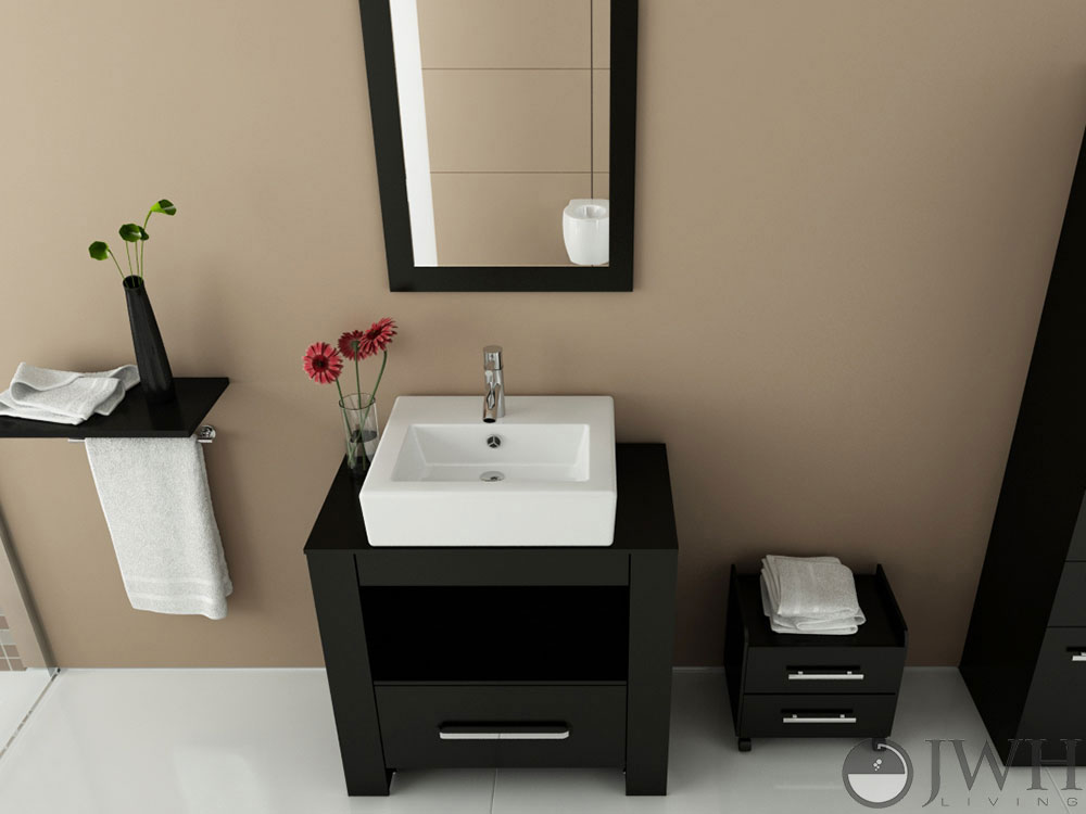 single vessel sink vanity vanities without toronto bathroom sale
