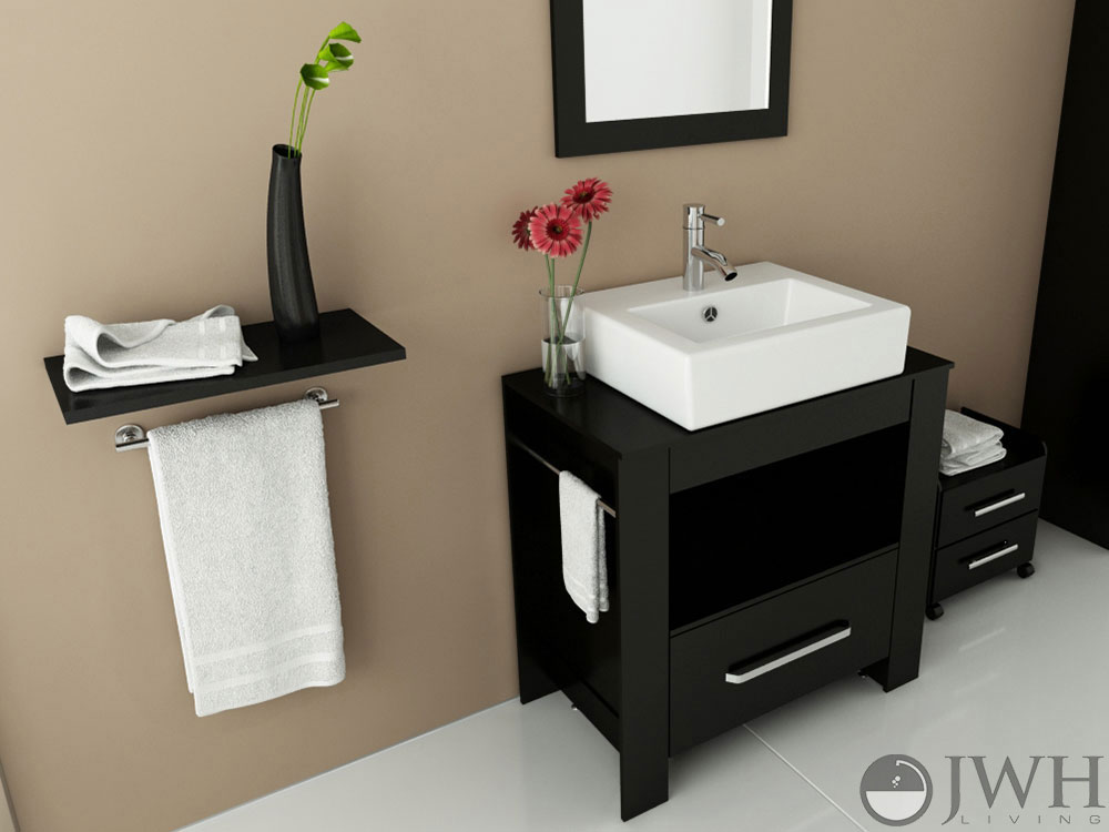 "31.5"" Libra Single Vessel Sink Vanity"
