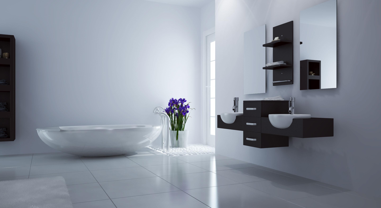 59 modus double bathroom vanity espresso for Affordable baths
