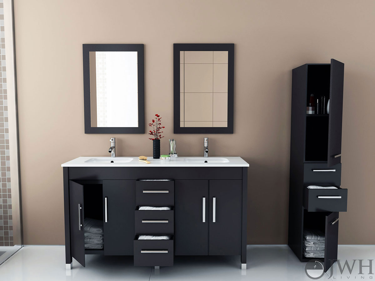 "59"" Sirius Double Under Mount Sink Vanity"