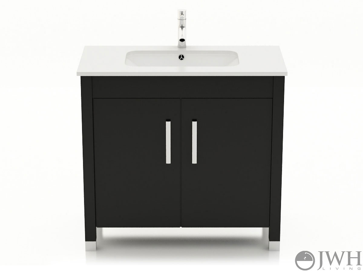 "35.5"" Gemini Single Under Mount Vanity"