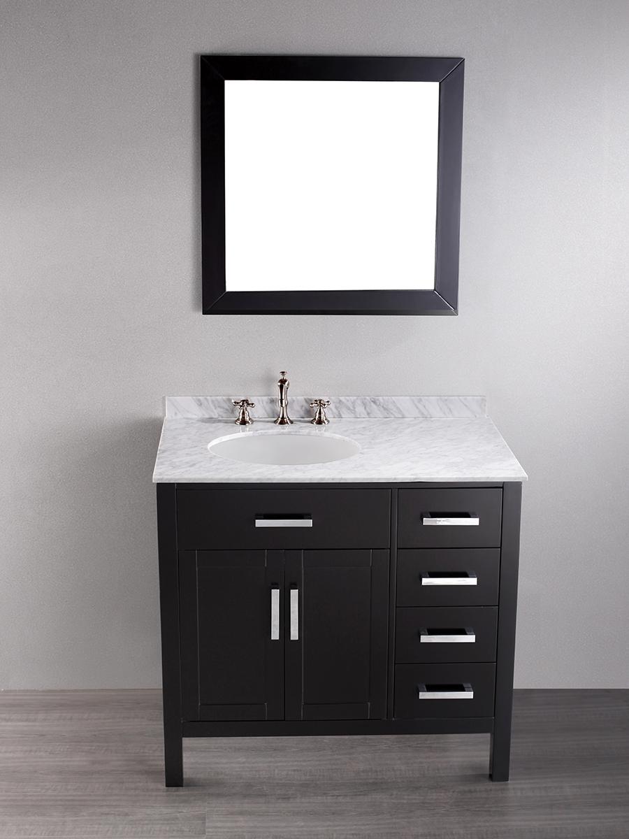 """36""""Magdalena Single Bath Vanity With Mirror"""