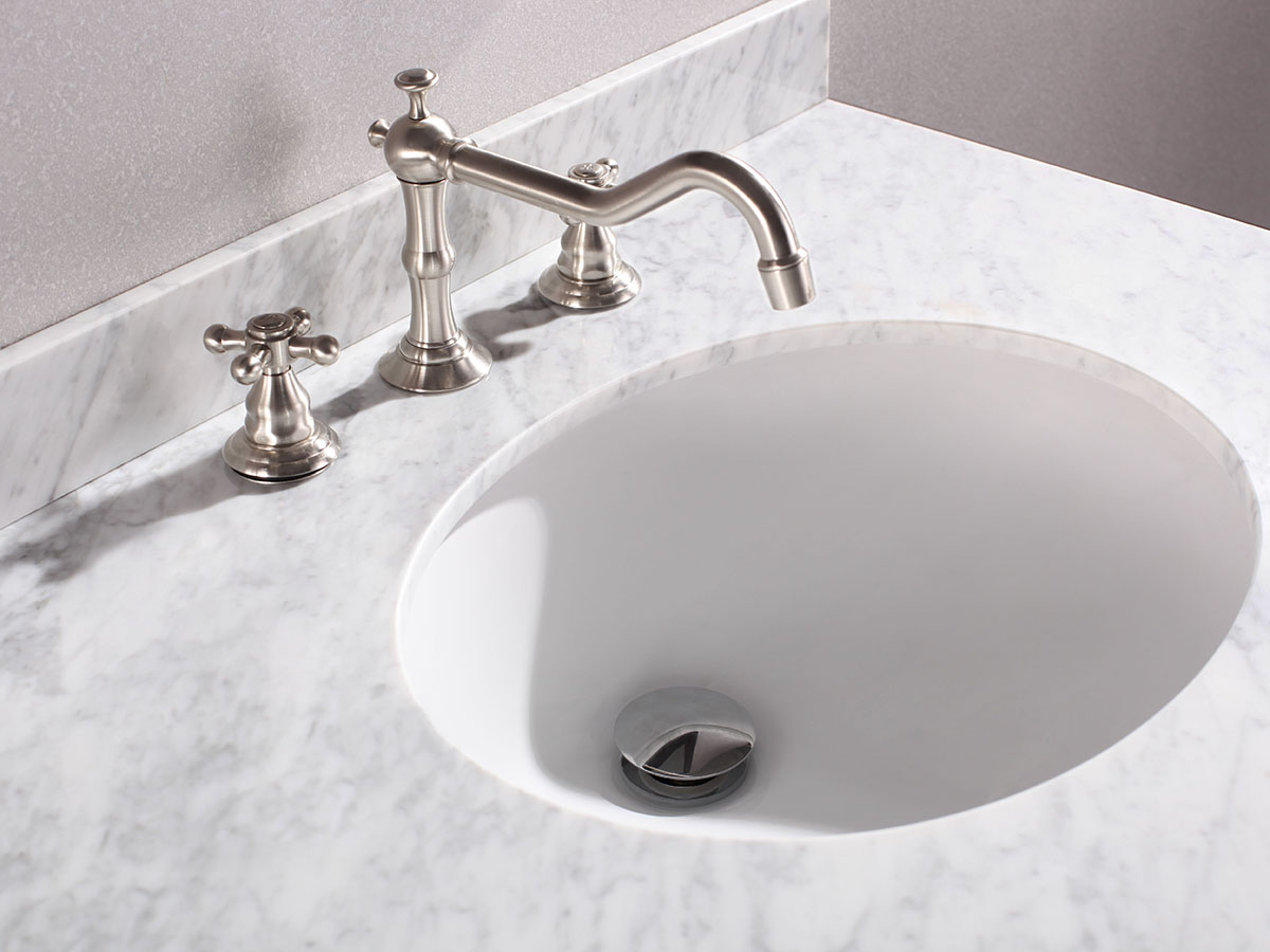 Rounded Ceramic Sink