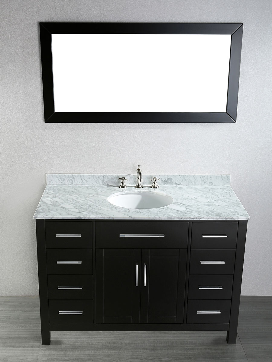 "47"" Constanza Single Bath Vanity With Mirror"
