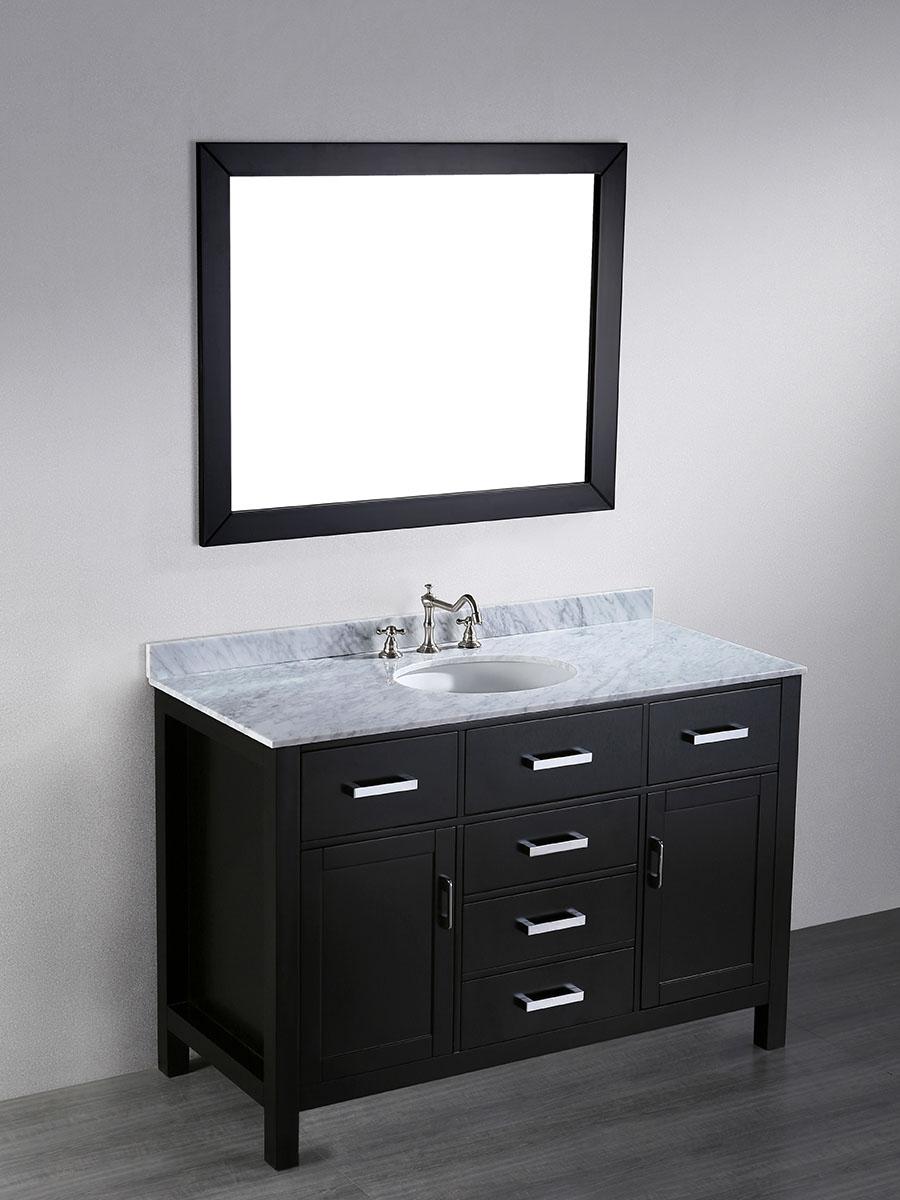 """49"""" Constanza Single Bath Vanity With Mirror"""