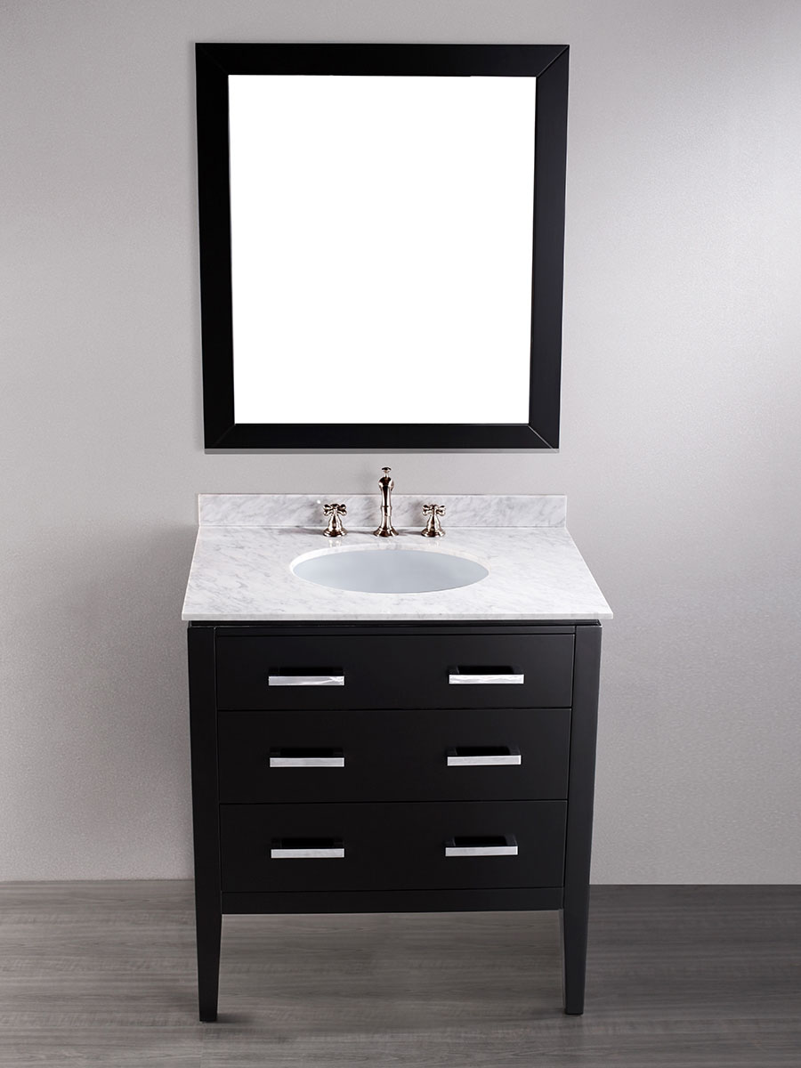 "31"" Tolten Single Bath Vanity With Mirror"