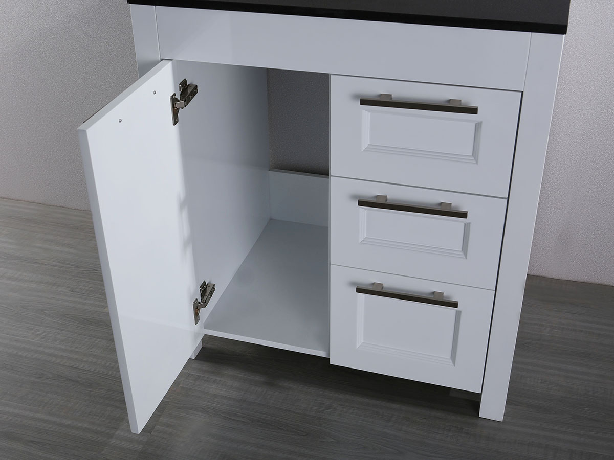 Single-Door Cabinet And Two Drawers