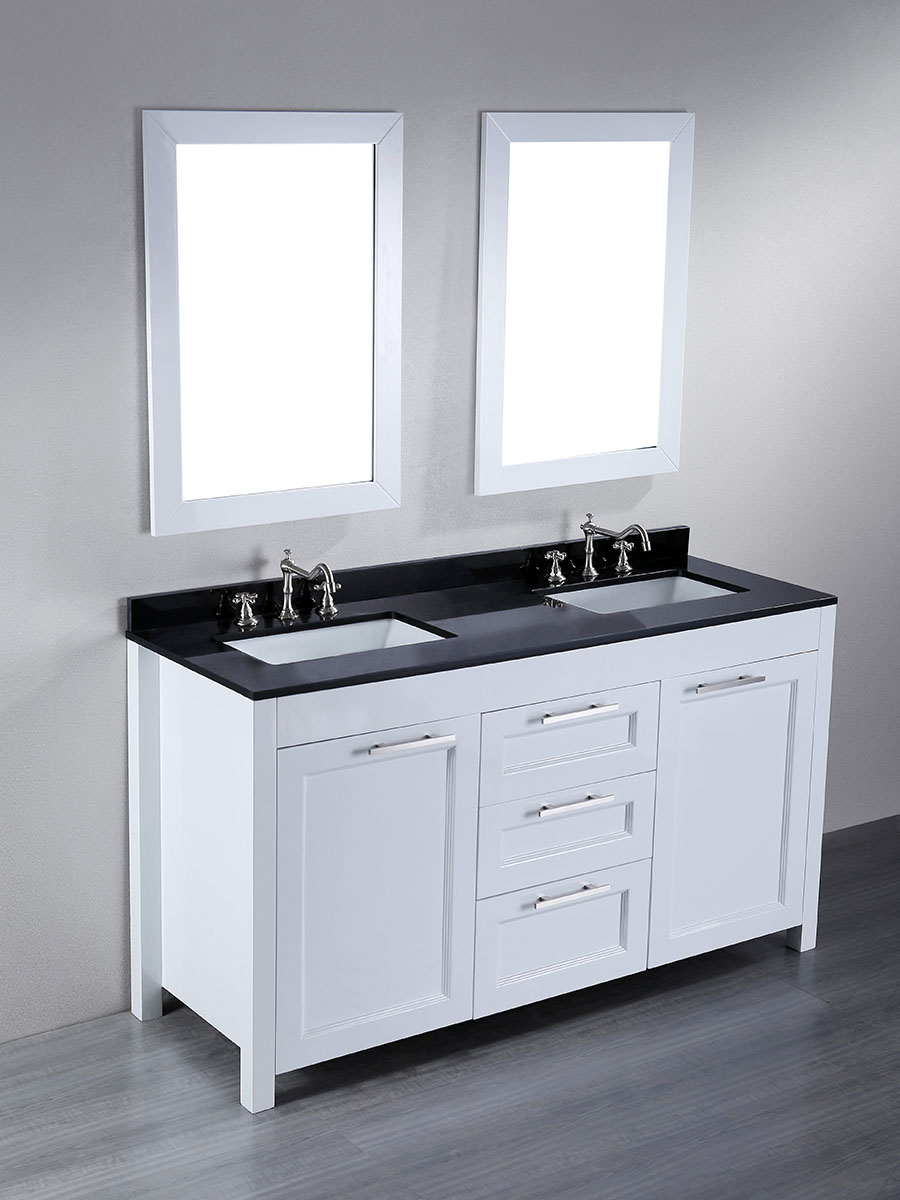"60"" Valencia Double Sink Vanity"