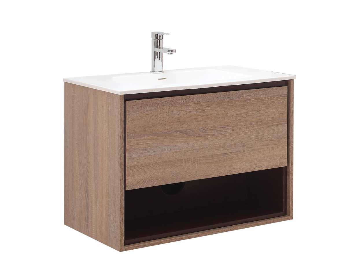 39.4 Sophora Single Bath Vanity - Restored Khaki