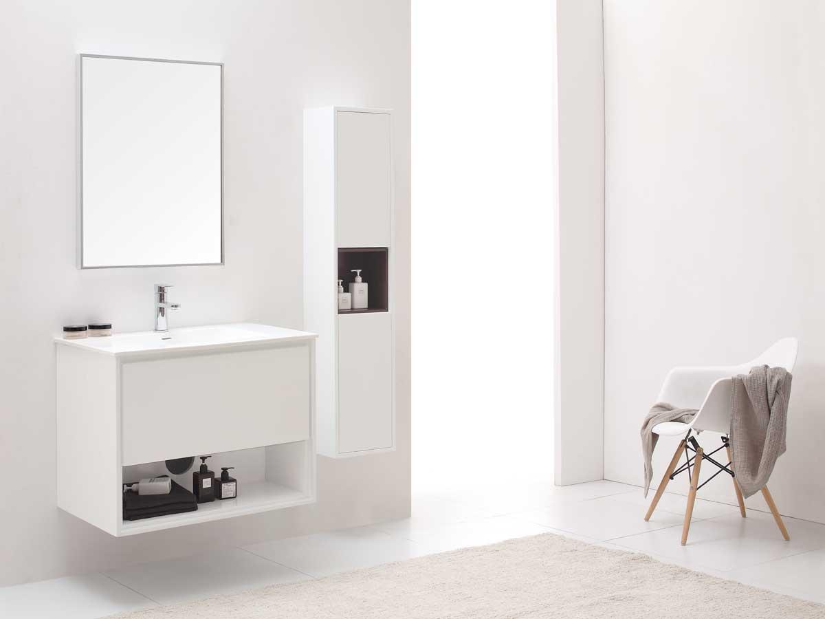 """31.5"""" Sophora Single Bath Vanity - White"""