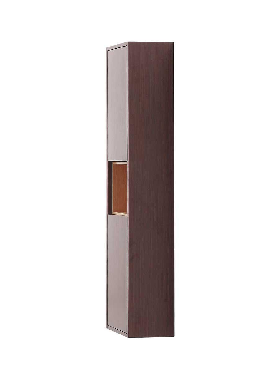 "31.5"" Sophora Linen Tower - Iron Wood"