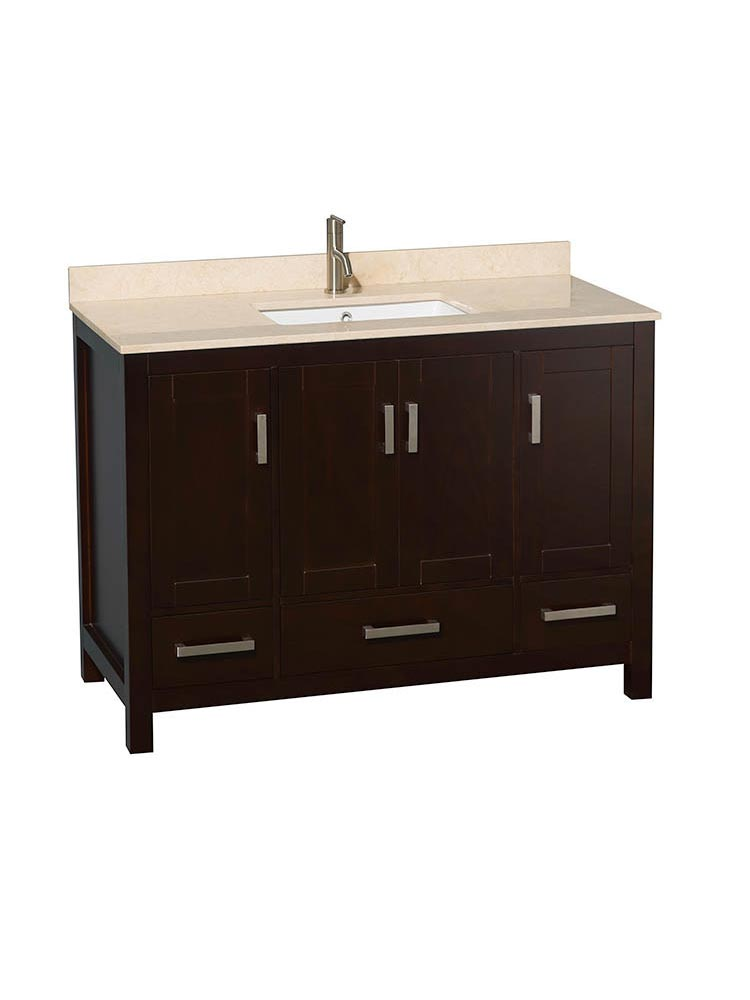 49 Sheffield Single Bath Vanity Espresso