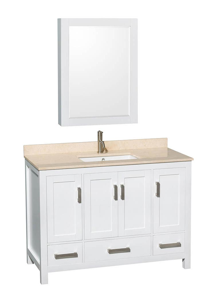 Shown with Optional Medicine Cabinet