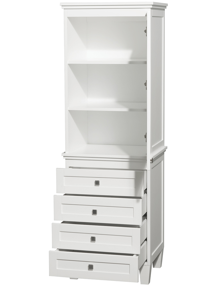Single-Door Cabinet and Four Drawers
