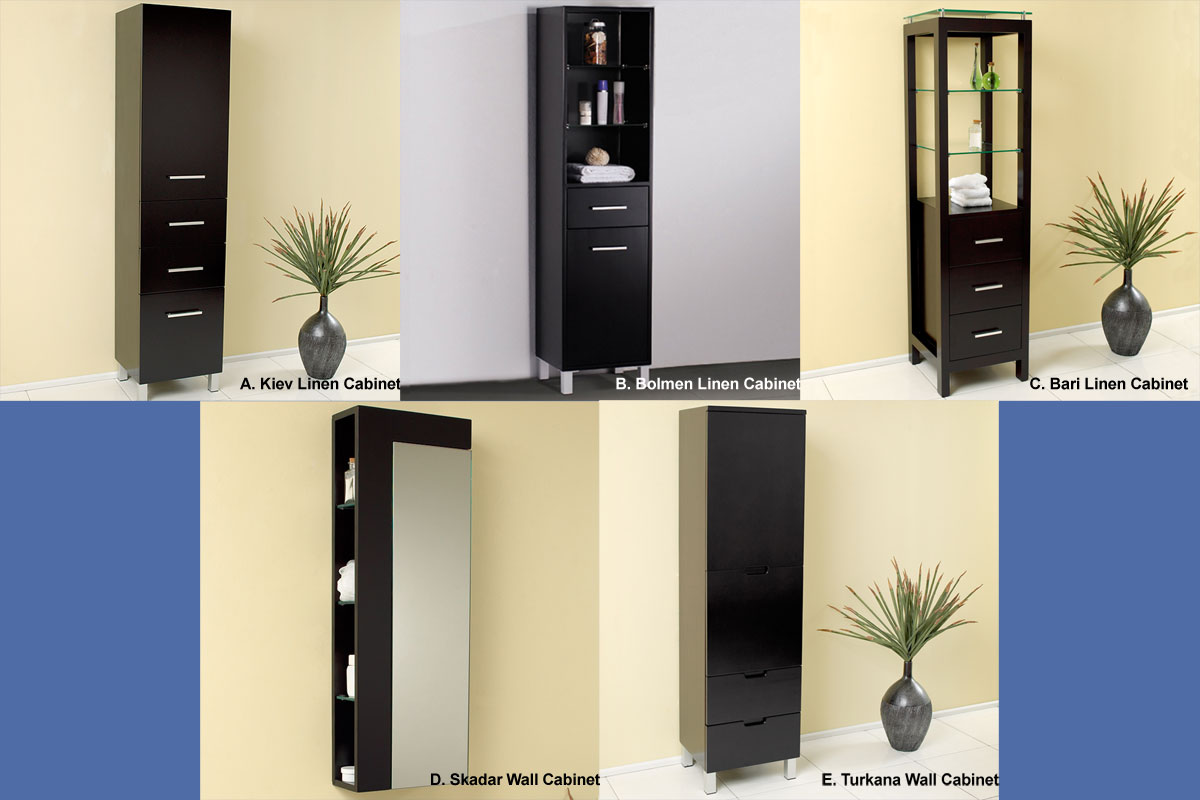 Optional Linen Cabinets