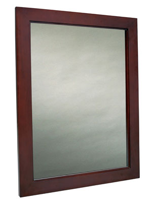 Genial Mahogany Bathroom Mirror