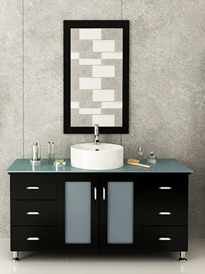 47 25 Grand Lune Single Bath Vanity Espresso Gl Top