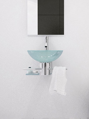 artemus singles For small bathrooms or powder rooms that need a touch of function and style, the artemis vessel sink vanity brings a fresh, new look that's both functional and modern.