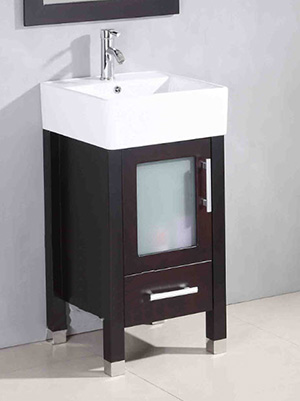 17 75 Quot Soft Focus Small Bathroom Vanity White Bathgems Com