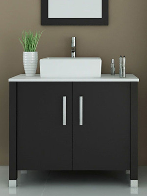 35 5 Quot Gemini Single Bathroom Vanity Espresso Bathgems Com