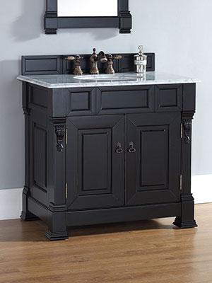 36 Genoa Single Bath Vanity Antique Blackh Bathgems Com