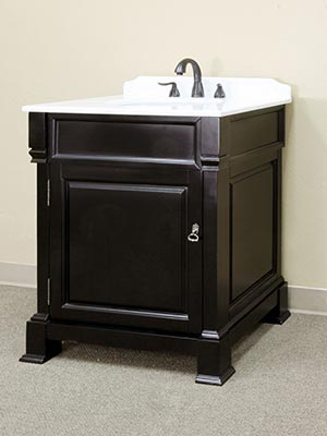 30 Helena Single Bath Vanity Espresso