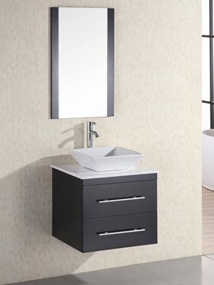 24 Portland Single Bath Vanity Marble