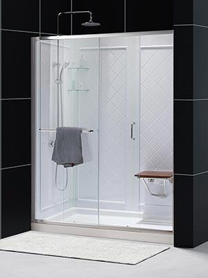 Dreamline Infinity Z Frameless Sliding Shower Door 36 Quot By