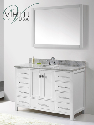 49 Caroline Avenue Single Bath Vanity