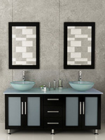 60 Inch Bathroom Vanity With Vessel Sink 55-60 inch bathroom vanities - bathgems