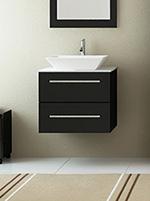 24 carina single bathroom vanity stone top