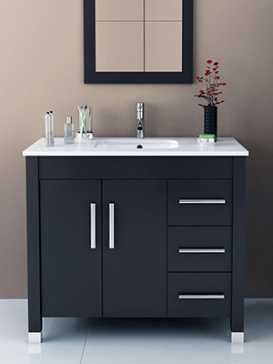 Bathroom Vanity And Sink single sink bathroom vanities - bathgems