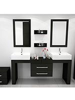 67 To 114 Scorpio Double Vessel Sink Vanity